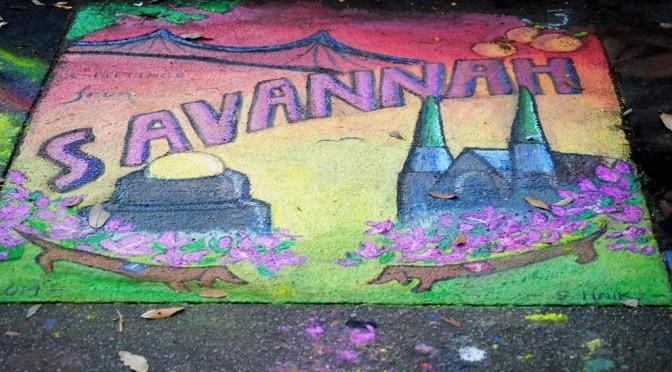 SCAD Sidewalk Arts Festival 2014