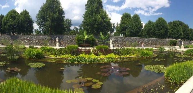 The Italian Gardens of Biltmore