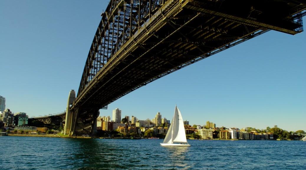 Sailing Under the Harbour Bridge