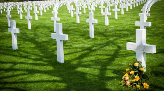 For Memorial Day – Margraten American Cemetery