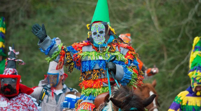 Traditional Cajun Mardi Gras in Eunice, Louisiana
