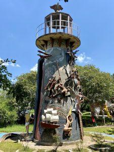 Lighthouse Sculpture